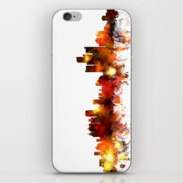 Detroit Michigan Skyline iPhone Skin