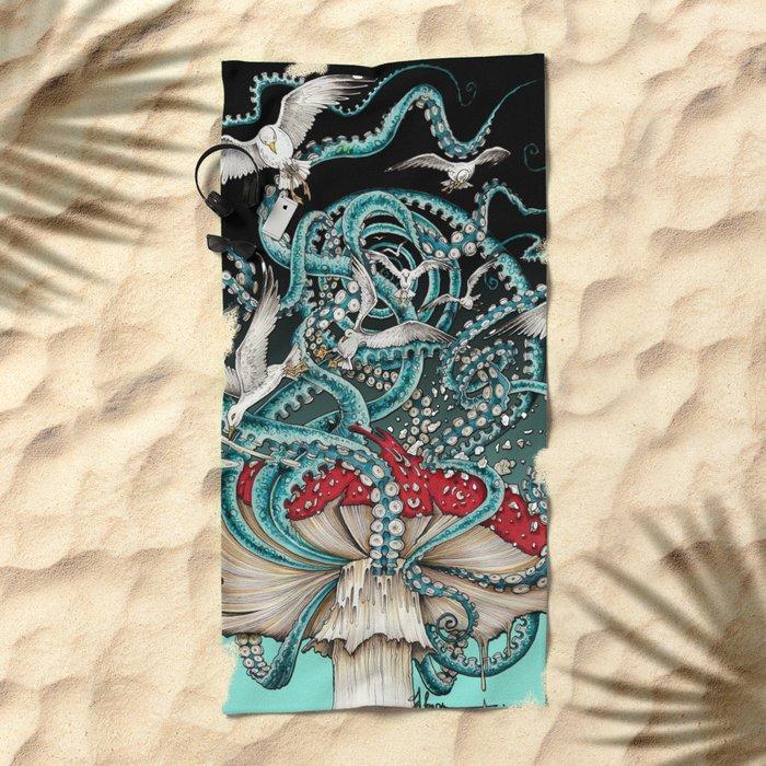 Flying the Agaric Beach Towel