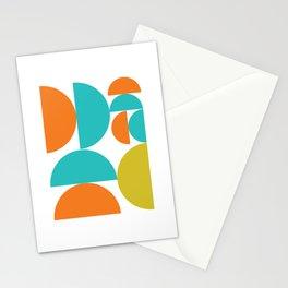 Half Moon Retro Pop Stationery Cards