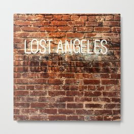 Lost Angeles Metal Print