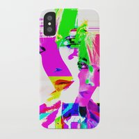 holographic iPhone & iPod Cases featuring future holographic lover by Robert Alan