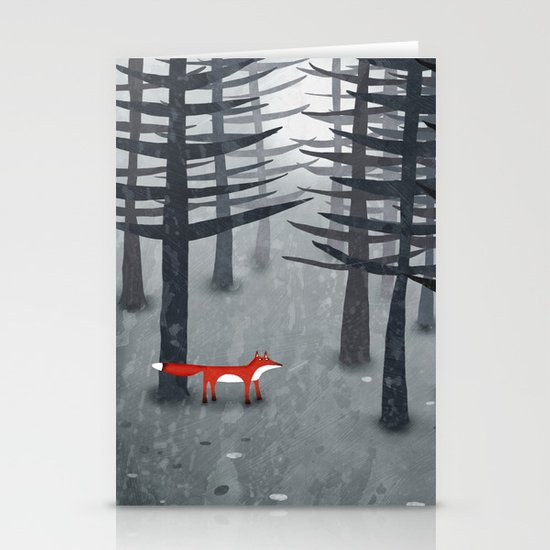 The Fox and the Forest Stationery Cards
