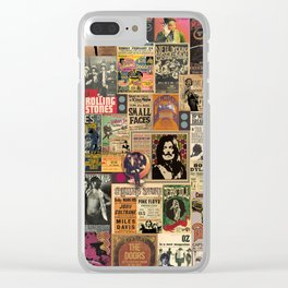 Rock'n Roll Stories Clear iPhone Case