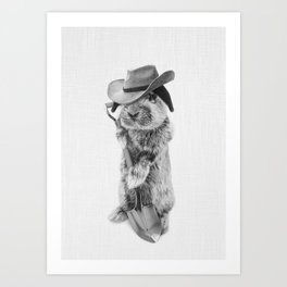 JOHNNY CARRO Art Print