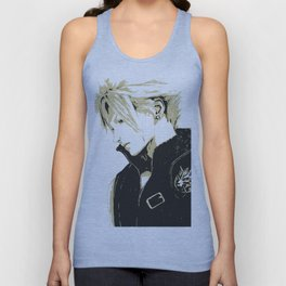 Cloud Strife Final Fantasy 7 Unisex Tank Top