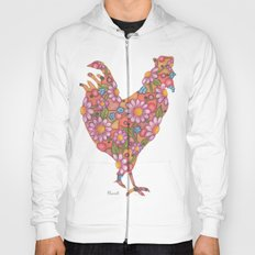 Daisy Rooster Hoody