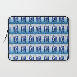 Wine Bottles Reflection Laptop Sleeve
