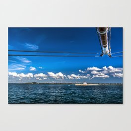 To the Light House Canvas Print