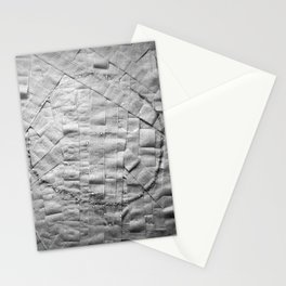 Smile on toilet paper Stationery Cards