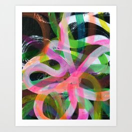 Excited Art Print