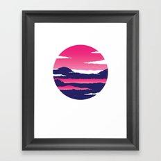 Kintamani Framed Art Print