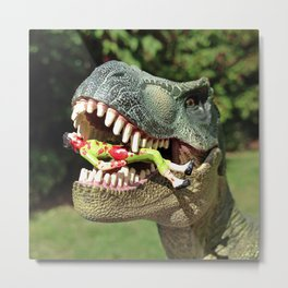 Welcome to Jurassic Park Metal Print