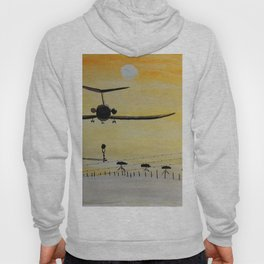 Yellow last flight Hoody