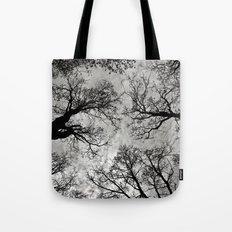 Meditative Power of Trees Tote Bag