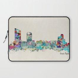 Grand Rapids Michigan skyline Laptop Sleeve