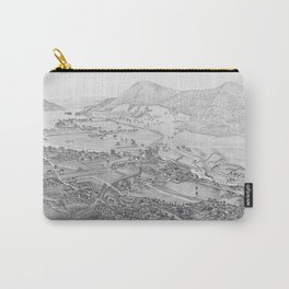 Ticonderoga Map 1884 Carry-All Pouch