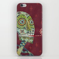 happy birthday iPhone & iPod Skins featuring Happy Birthday by Santiago Uceda