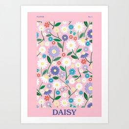 Daisy Chain Art Print