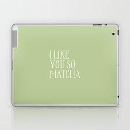 green matcha Laptop & iPad Skin