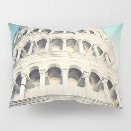 Leaning Tower 2, Pisa Pillow Sham