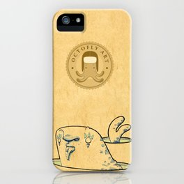 Foca con pesce iPhone Case