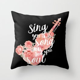 This Savage Song Throw Pillow