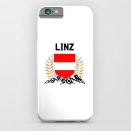 Linz Austria Alps TShirt Austria Flag Shirt Austrian Alps Gift Idea  iPhone Case