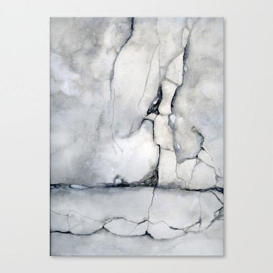 Walk On Canvas Print