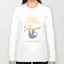 Sleeping is the best thing! Long Sleeve T-shirt