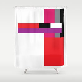 A language of alternative code #1 Shower Curtain