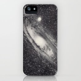 Vintage Astronomy-Nebula M31 Andromeda iPhone Case