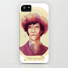 See me in a Crown iPhone Case