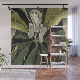 Tropical Umbrella Tree Wall Mural
