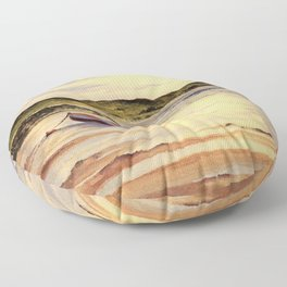 Mull Of Kintyre Scotland Floor Pillow