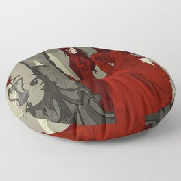 The Mirror Floor Pillow