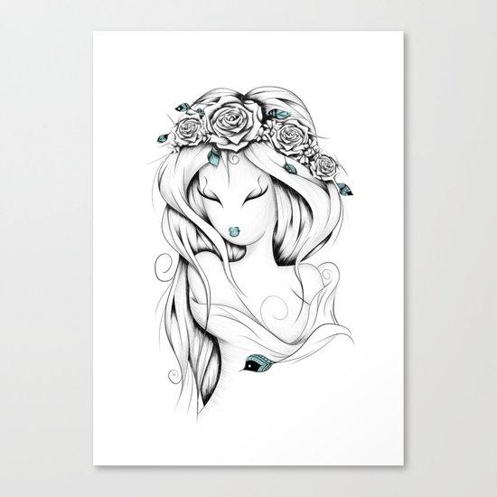 Poetic Gypsy Canvas Print
