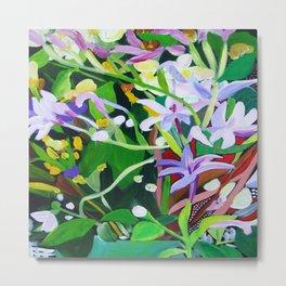 April Flowers Metal Print