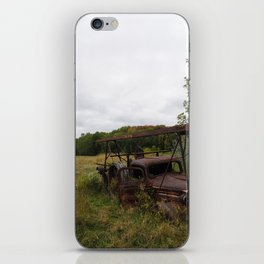 Rust and Retirement iPhone Skin