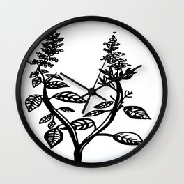 Basil Wall Clock
