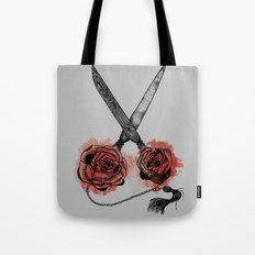 the scissors Tote Bag