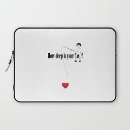 How deep is your Love? Laptop Sleeve
