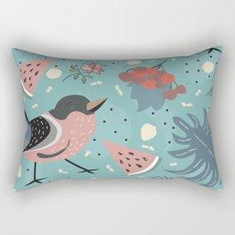 My Forest Mystery Bird Rectangular Pillow