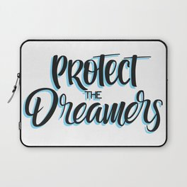 Protect the dreamers BLUE Laptop Sleeve