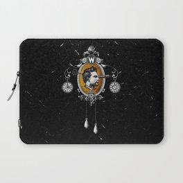 The Watchmaker (black version) Laptop Sleeve