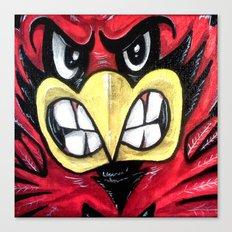 Fighting Cardinal Canvas Print