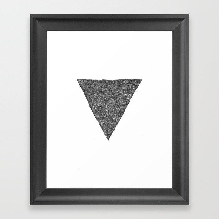 Drei Framed Art Print