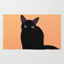 Cafe Kitty Rug