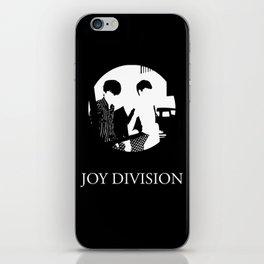 JOY DIVISION - Music | Goth | Indie | Wave | Retro | Vintage | Vector | Black and White | Vinyl  iPhone Skin