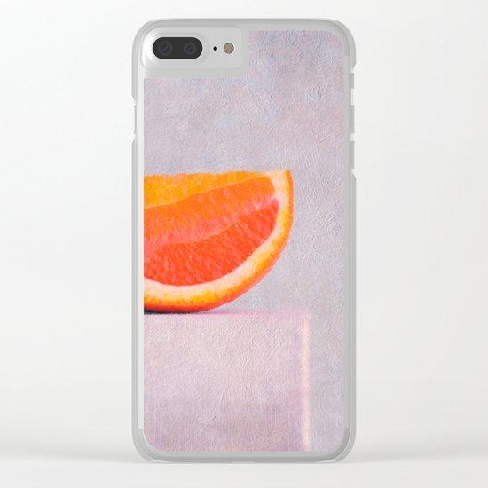 summer in orange Clear iPhone Case