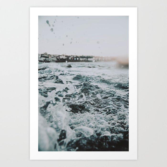summer waves ii / bondi beach, australia Kunstdrucke